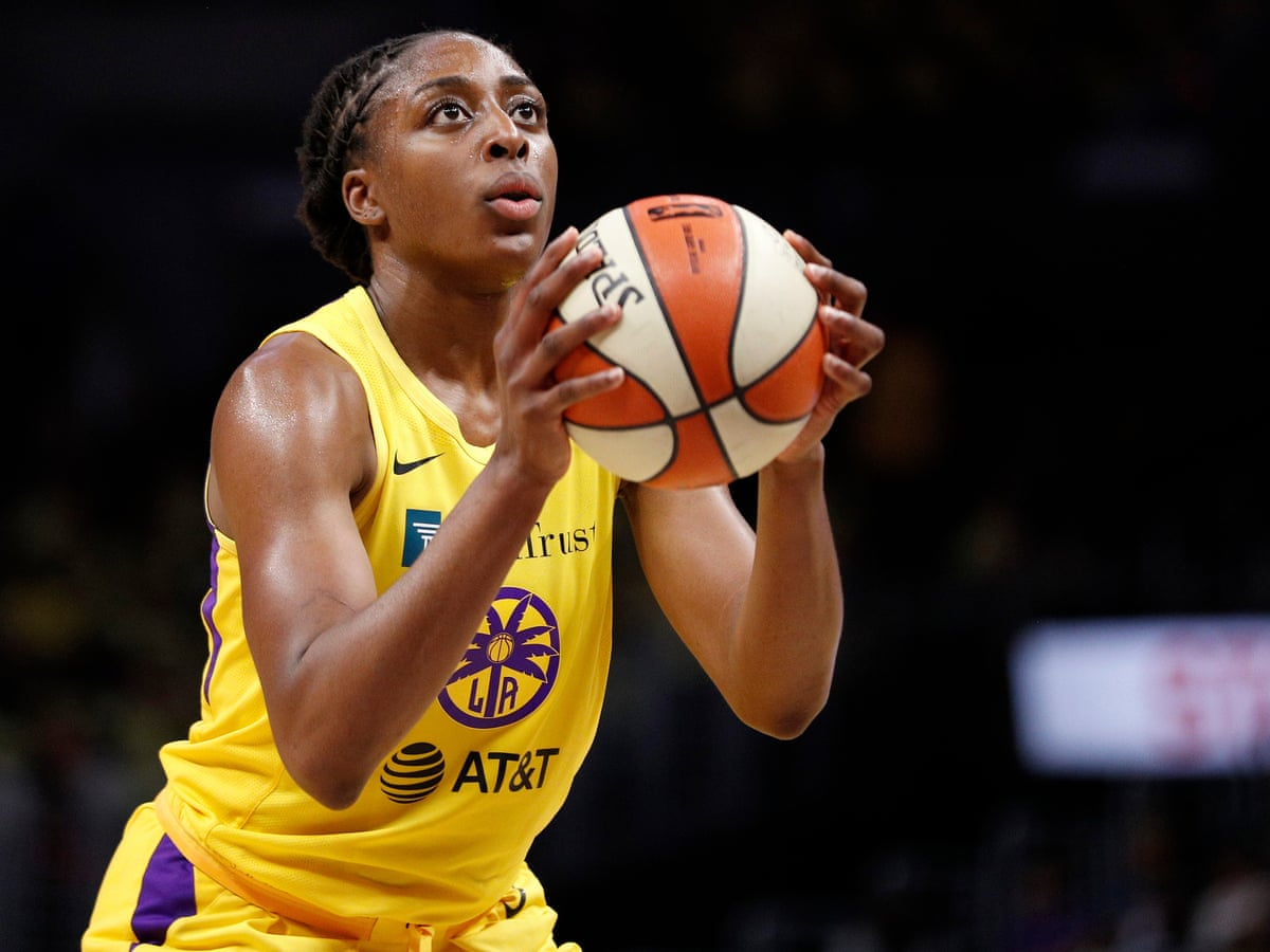 LA Sparks' Nneka Ogwumike: 'Our hope is that this isn't a moment but it is  a movement'   WNBA   The Guardian