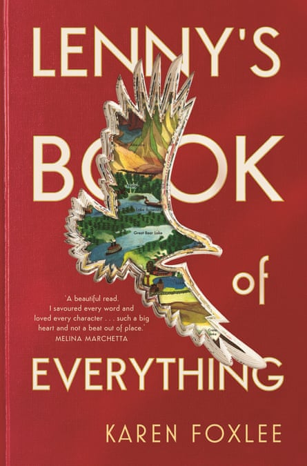 Cover image for Lenny's Book of Everything by Australian author Karen Foxlee