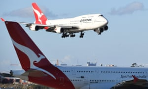 Qantas flight loses cabin pressure and forced to divert to