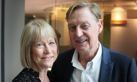 John Hays, pictured with his wife and co-owner of Hays Travel, Irene