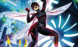 Sting it back: The Unstoppable Wasp goes pop in New York.