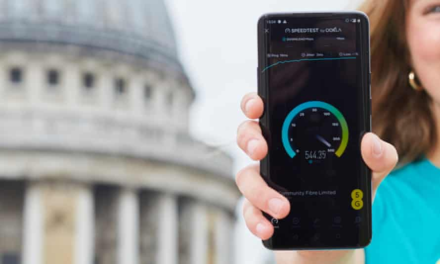Speeds in St. Pauls were some of the highest in London.