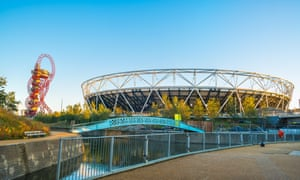 The London Stadium in the Olympic Park, which will host the World Athletics Championships in August.