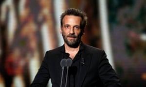Mathieu Kassovitz at the 2020 César awards in Paris.