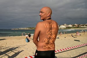 David Wesson poses for a photo at North Bondi