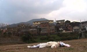 Double Lunar Rabbits, 2010, video still, by Joan Jonas.