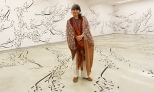 """Forouhar wants to encourage viewers to """"give up their distances, ambivalent positions, and rethink their presumptions"""""""