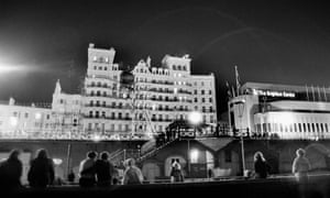 The Grand Hotel in Brighton after the IRA bomb attack, 12 October 1984. Five people died in the blast