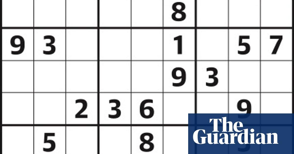 Sudoku 4,174 medium | Life and style | The Guardian