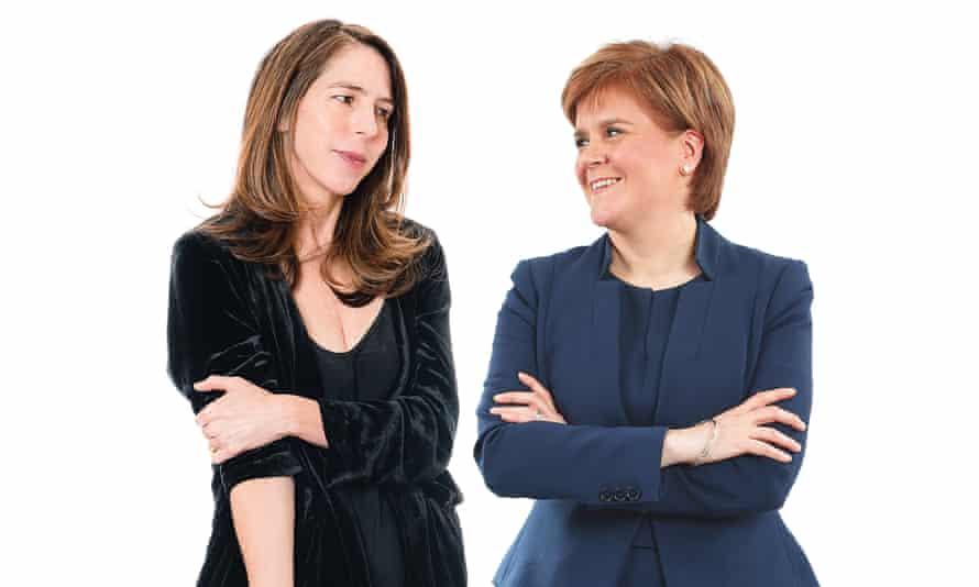 Rachel Kushner and Nicola Sturgeon