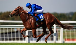Masar, ridden by James Doyle, was beaten by Communique in the the Princess of Wales's Stakes.