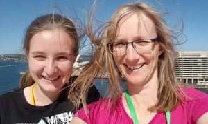 Brisbane's Julie Richards, 47, and Jessica Richards, 20,