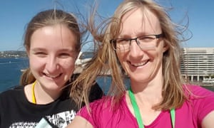 Brisbane's Julie Richards, 47, and Jessica Richards, 20, pictured in 2015.
