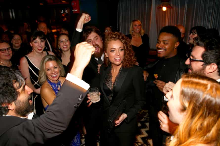 Michelle Wolf attends the celebration after the White House correspondents' dinner in 2018.
