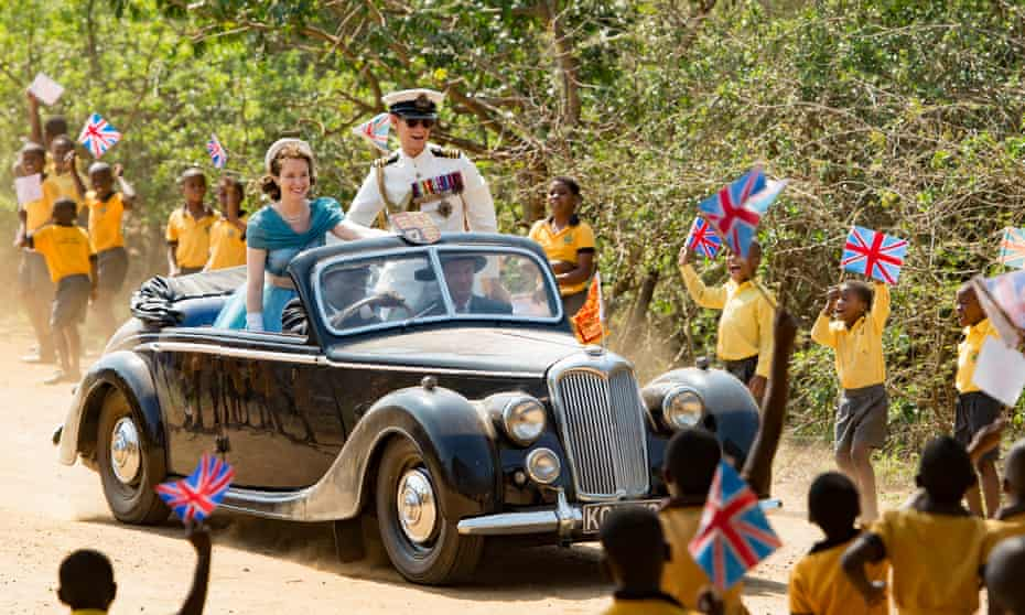 Did Philip find their Commonwealth tour 'an absurd pantomime' in which they were obliged to dress up and be the 'coat of paint' on a 'rusty old banger'?