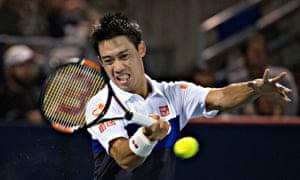 Kei Nishikori is ranked No 4 in the world, and has won three ATP titles this season.