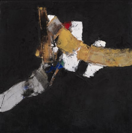 Black Space 21, 2014, by Klaus Friedeberger.