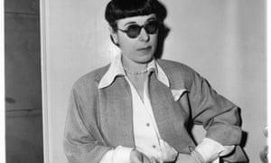 Hollywood costume designer Edith Head