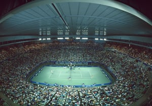 How centre court looked in January 1988.
