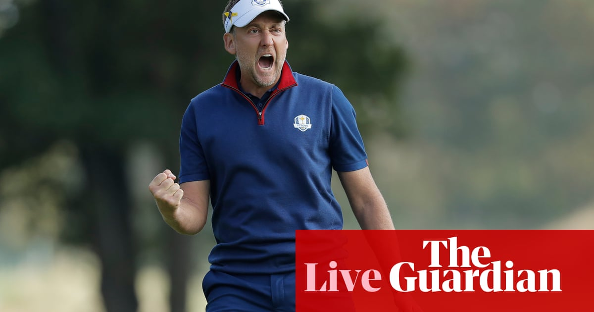 ea624484636 Ryder Cup 2018  Europe surge 5-3 up on USA after awesome foursomes – as it  happened