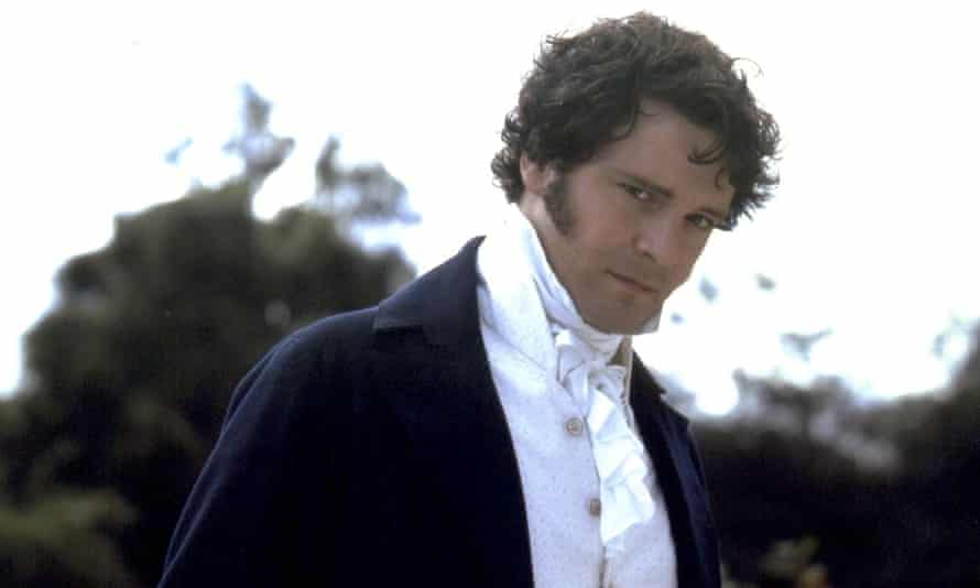 Colin Firth as Mr Darcy in the BBC's 1995 adaptation of Pride and Prejudice