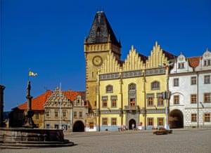 Tábor's main square.
