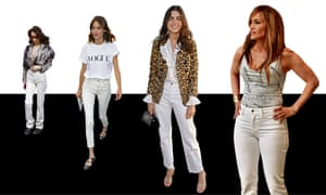 1a8ac69c148 All white now: the great white jeans revival   Fashion   The Guardian