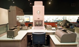 A 1959 Ferranti Pegasus computer in the Science Museum, London. George Felton managed, and largely implemented, the programming scheme for the Pegasus.