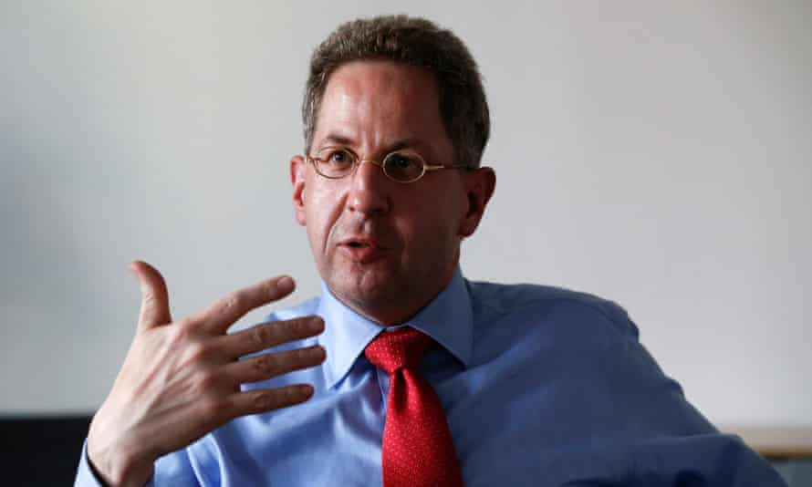 Hans-Georg Maaßen, the head of BfV, says espionage and sabotage is going on in cyberspace.
