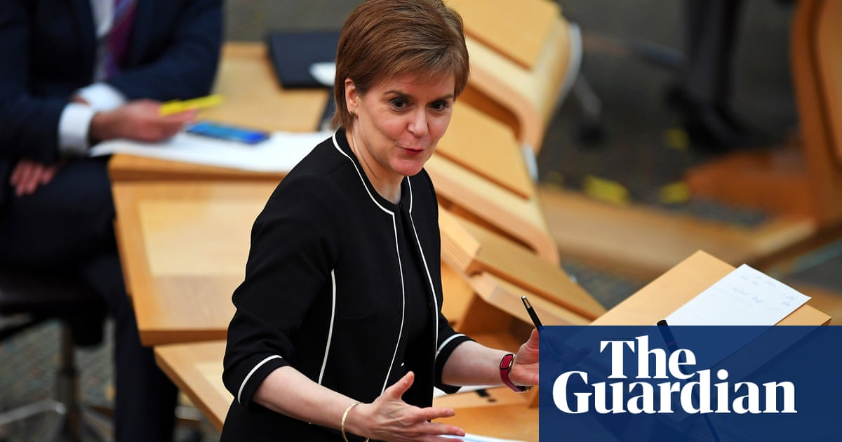 Nicola Sturgeon relaxes Covid rules on outdoor mixing – video