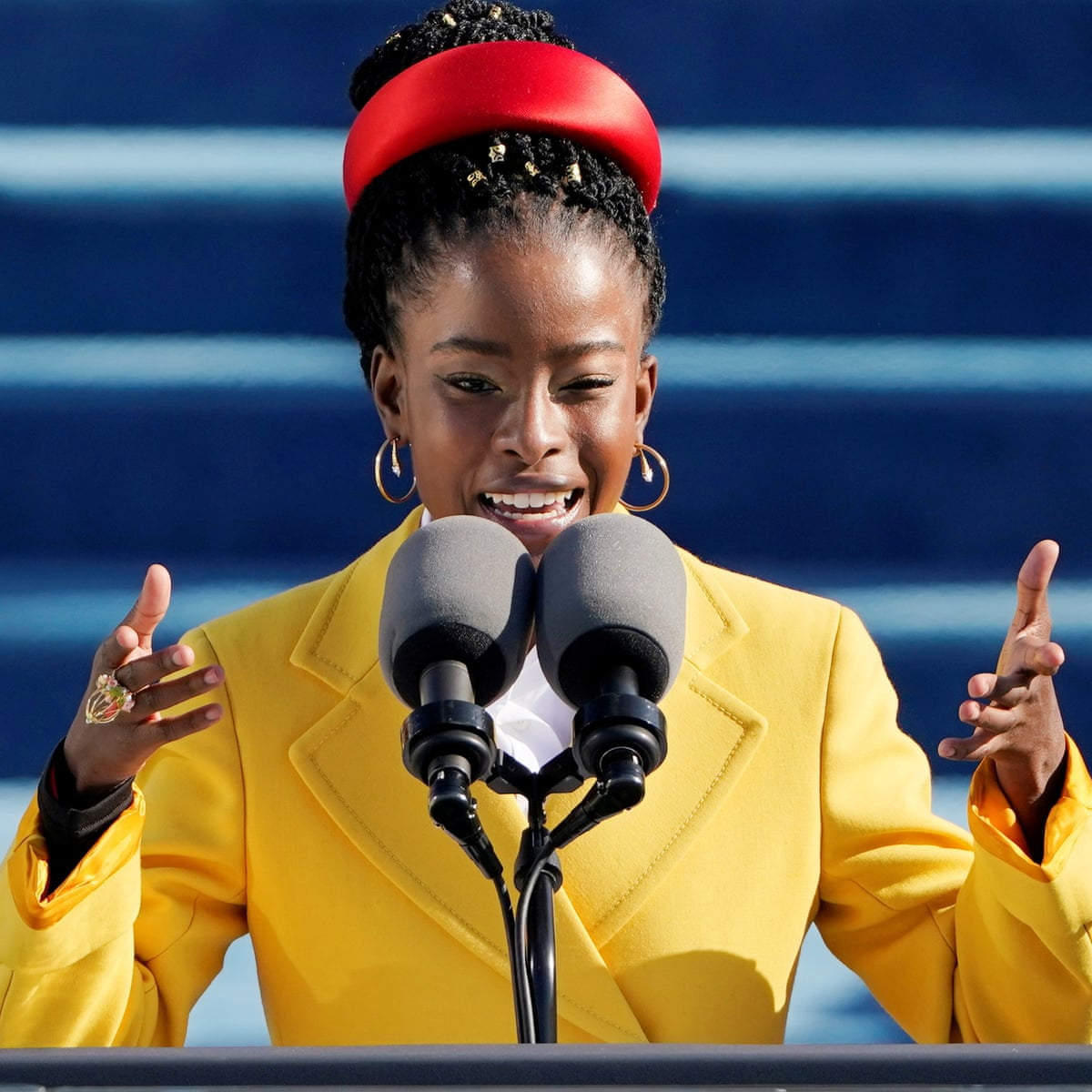 Amanda Gorman at Biden's inauguration reminded me: politics needs poetry |  Poetry | The Guardian