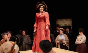 'Situation and acting equally compelling': Polly Lister as Vida in Votes for Women.
