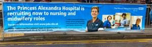 Advertisement for nurse recruitment