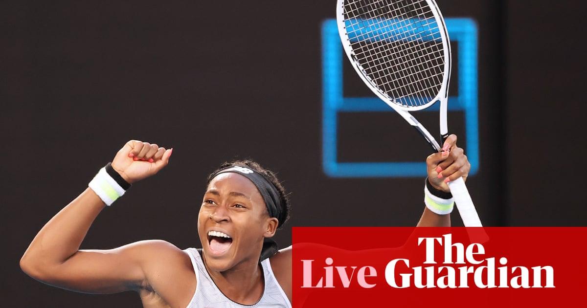 Australian Open:  Coco Gauff beats Naomi Osaka to reach last 16 – live!