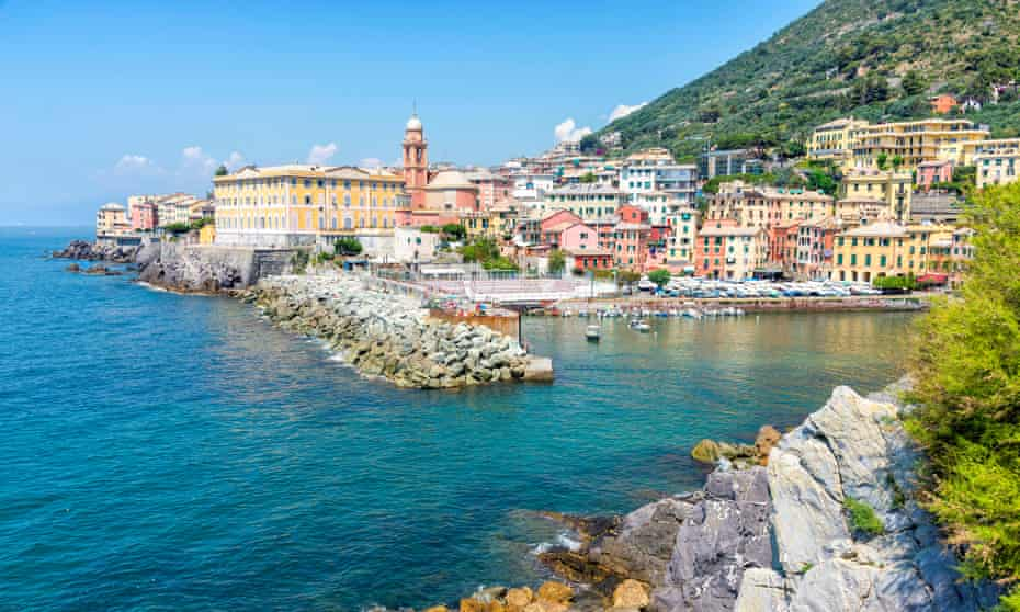Nervi is a former fishing village now a seaside suburb of Genoa.