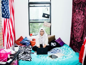 Amani Al-Khatahtbeh, founding editor of Muslim Girl.