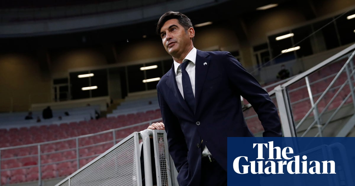Paulo Fonseca agrees to become the new manager of Tottenham