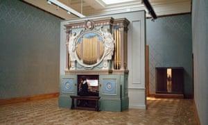 Marathon of music … a performer in Ragnar Kjartansson's The Sky in a Room.