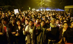 A rally in Delhi on 29 December 2012