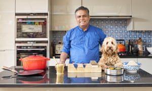 Chef Vivek Singh in his kitchen at home