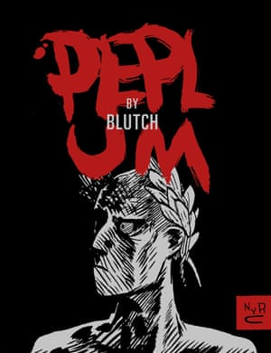 Peplum by Blutch (April, New York Review Comics)