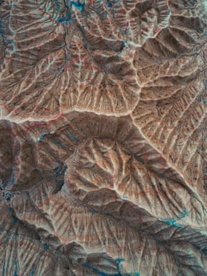 The Fossil (Mountain textures in Navarra, Spain)