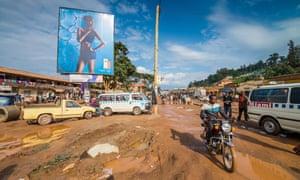 street scene, Kabale, Uganda, Africa, 29th December 2015