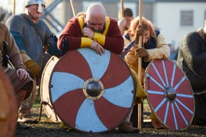 Participants remember fallen comrades from real Norse battles