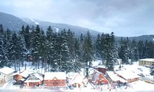 Borovets Ski Resort Bulgaria.