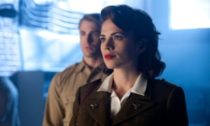 Hayley Atwell with Chris Evans in 2011's Captain America: The First Avenger.