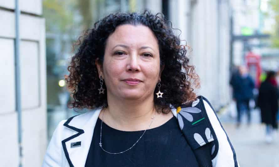 Maya Forstater attends the employment tribunal in November