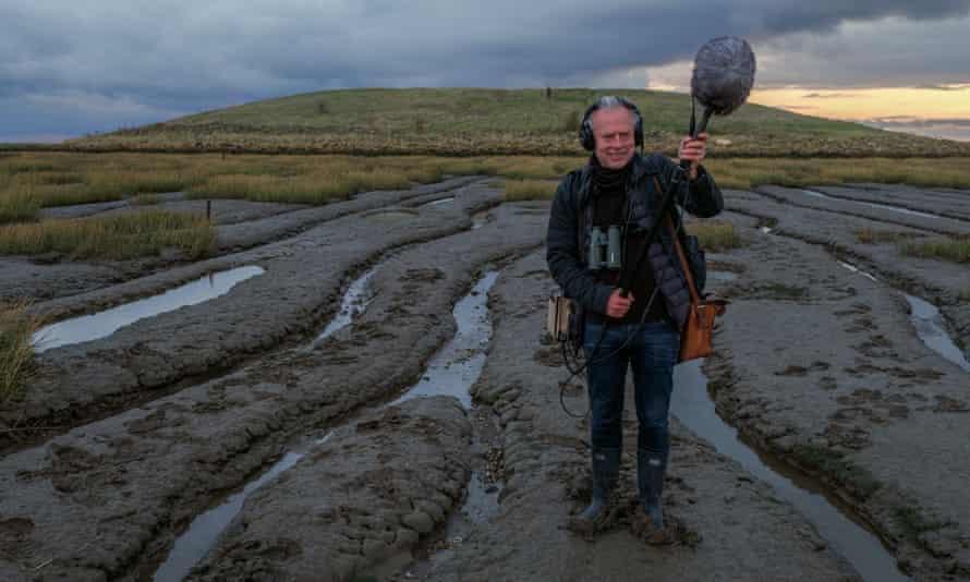 Tim Dee, sound recordist, writer and birdwatcher.