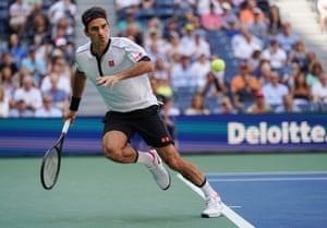 Federer is returning everything