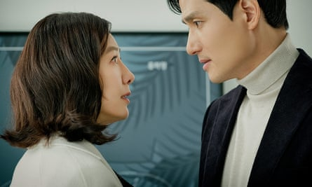 A still from the South Korean TV show The World of the Married